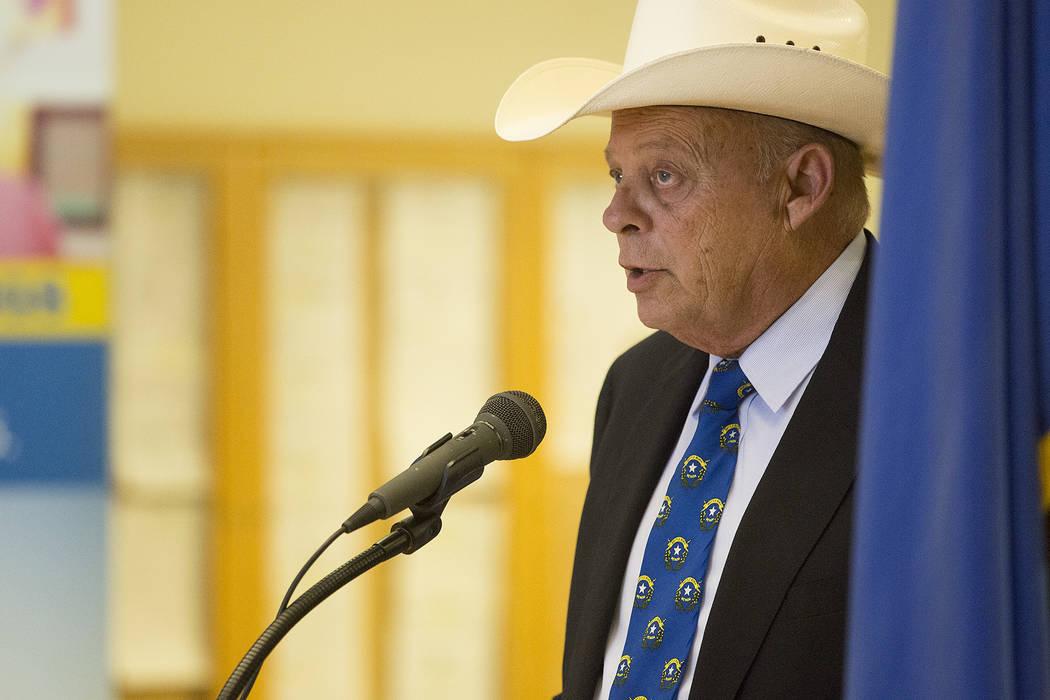 El líder de la minoría en la asamblea Jim Wheeler representa a Gardnerville. (Bridget Bennett / Las Vegas Review-Journal)
