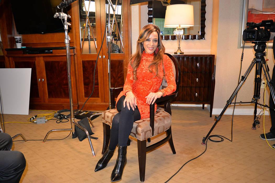 La reconocida artista Marger durante una entrevista exclusiva para El Tiempo. Miércoles 14 de noviembre de 2018. Foto Frank Alejandre / El Tiempo.