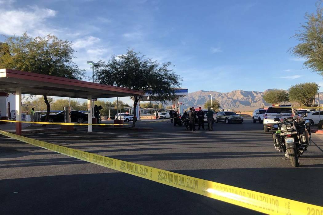 Un joven de 16 años murió después de recibir un disparo en North Las Vegas el martes 13 de noviembre de 2018, informó la policía. (Katelyn Newberg / Las Vegas Review-Journal)