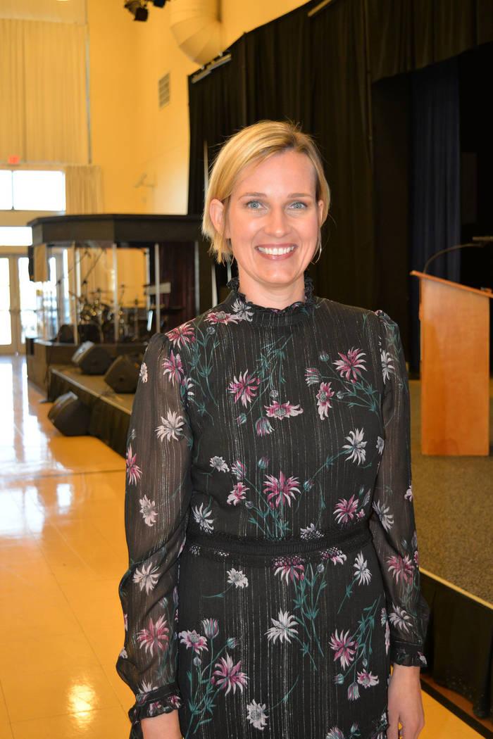 Heather Korbulic es directora ejecutiva de Nevada Exchange. Jueves 15 de noviembre de 2018, en el campus Engelstad del Opportunity Village. Foto Frank Alejandre / El Tiempo.