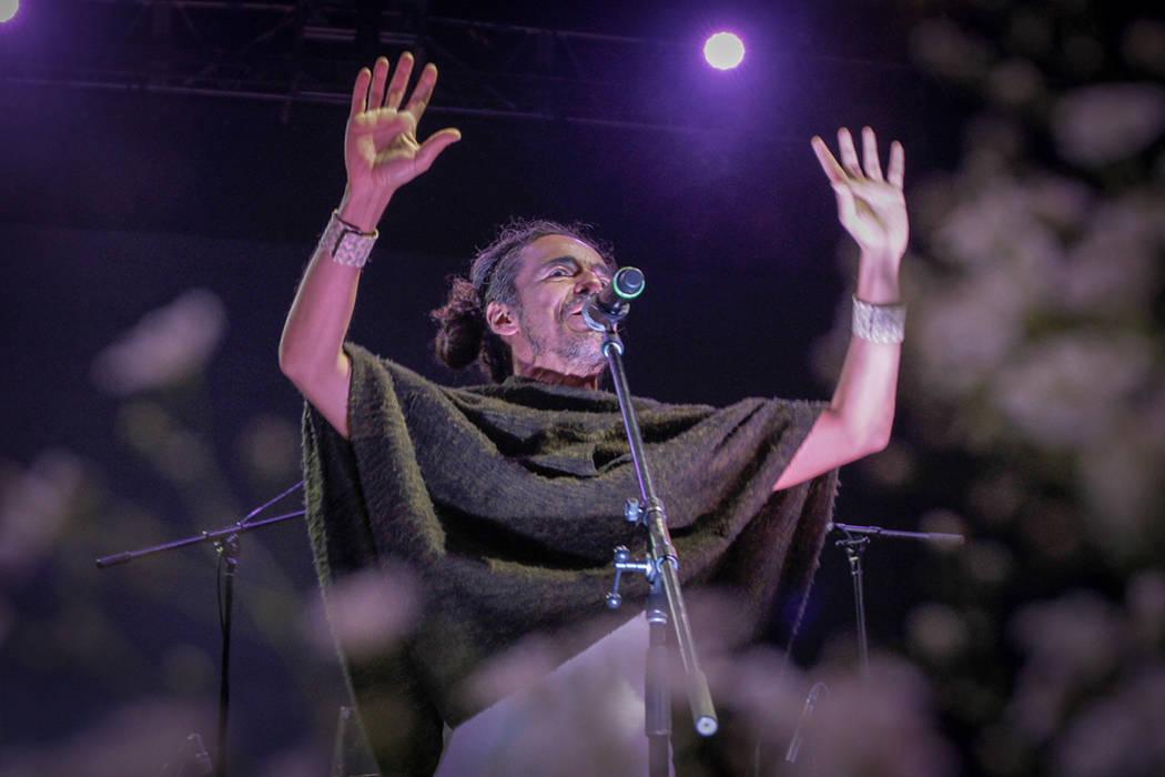 ARCHIVO. Guanajuato, 25 Oct 2018 (Notimex-Alejandra Rodríguez).- Hoppo!, la banda alterna de Rubén Albarrán, líder de Café Tacvba se presentó esta noche en la Explanada de la Alhóndiga de G ...