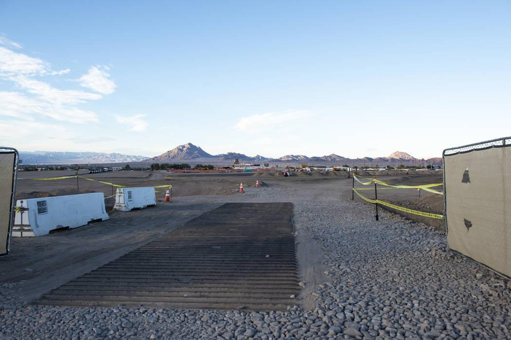 Mucho espacio propuesto para construir un centro de datos para Google en Henderson, lunes 8 de octubre de 2018. Caroline Brehman / Las Vegas Review-Journal @carolinebrehman