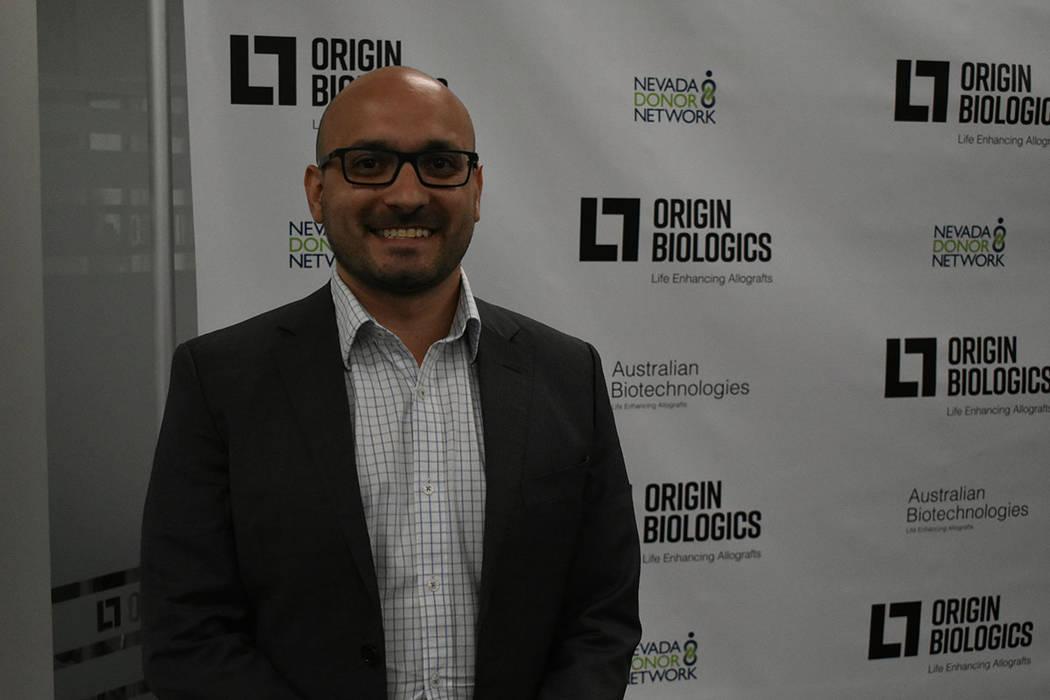 """""""La idea nació por la necesidad, en Nevada no hay una planta de procesamiento de aloinjertos"""": Alberto López, gerente general de Australian Biotechnologies. Viernes 16 de noviembre de 2018 e ..."""