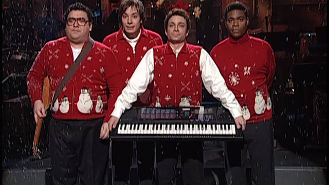"""""""I Wish It Was Christmas Today"""" has become a yearly treat as part of """"Saturday Night Live Best of Christmas."""" (NBC)"""