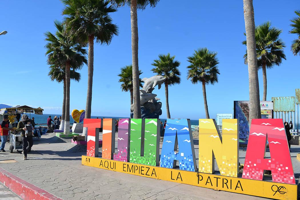 Tijuana: aquí empieza la patria, ahora sumida en un caos e incertidumbre a causa de la Caravana Migrante que ha polarizado opiniones entre sus residentes. Domingo 25 de noviembre de 2018, en Tiju ...