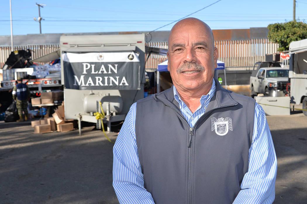 Manuel Figueroa Sandoval, director de desarrollo social municipal del XXII Ayuntamiento de Tijuana. Sábado 24 de noviembre de 2018, en Tijuana, Baja California Norte. Foto Frank Alejandre / El Ti ...