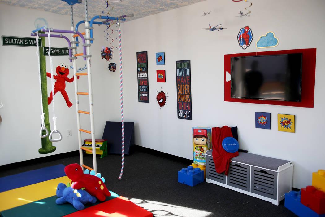 La nueva casa de juegos de Sultan Bouras Souissi en North Las Vegas el lunes 26 de noviembre de 2018. Rachel Aston Las Vegas Review-Journal @rookie__rae
