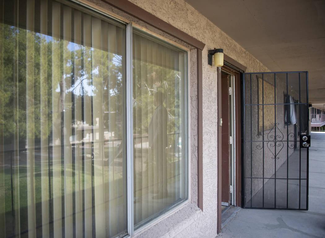 Toma interior de una de las casas más baratas actualmente en venta en Las Vegas, martes 27 de noviembre de 2018. Caroline Brehman / Las Vegas Review-Journal