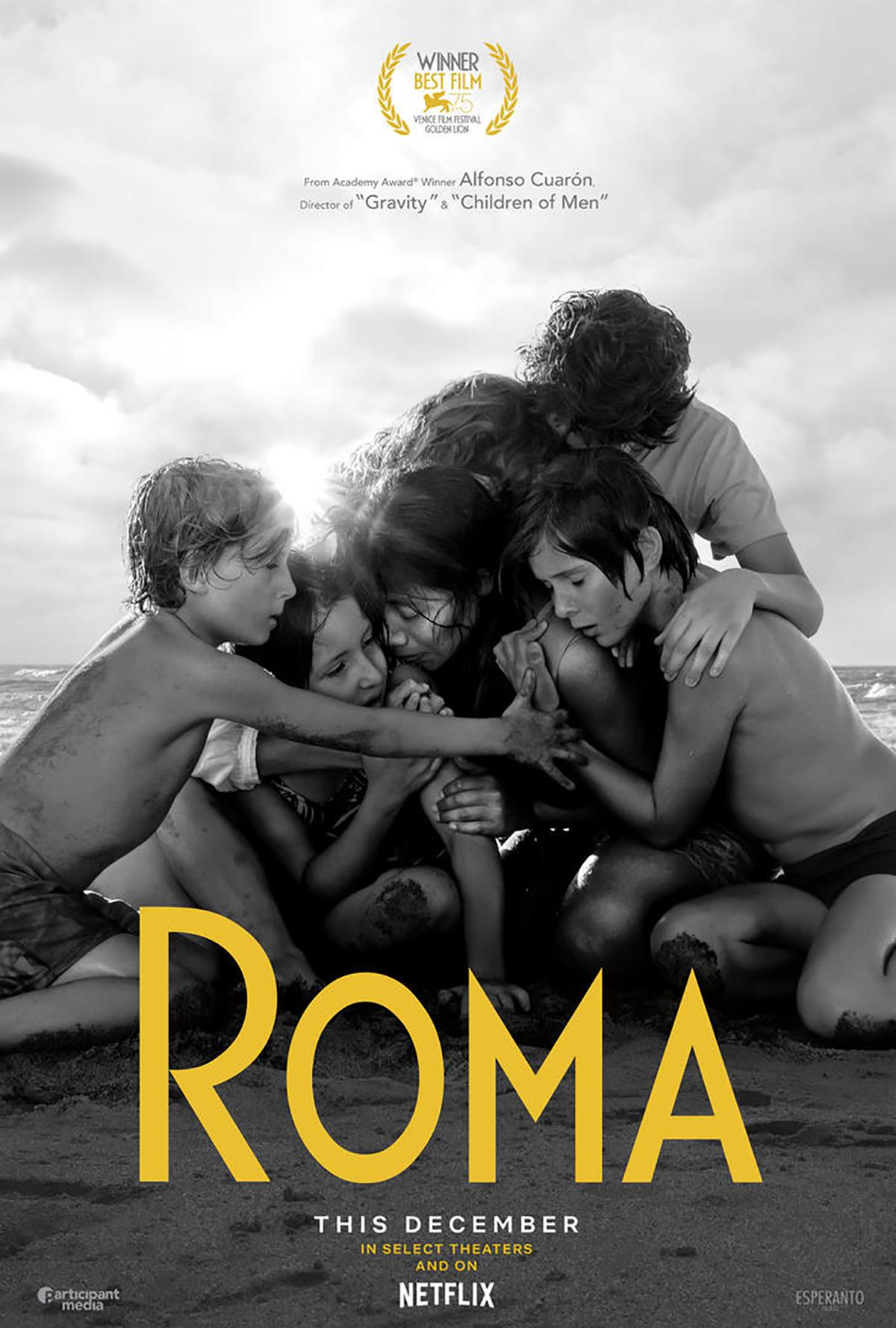 Roma tuvo su estreno en los cines a partir del 21 de noviembre en Los Ángeles, Nueva York y México. Se sumarán otras salas en ciudades de los Estados Unidos, Toronto y Londres el 29 de noviembr ...