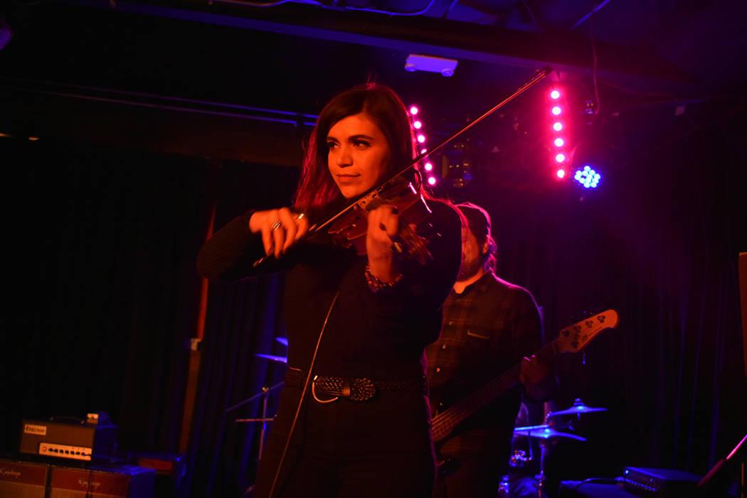 The Scoundrels fueron los encargados de cerrar la noche musical. Viernes 23 de noviembre de 2018 en Bunkhouse Saloon. Foto Anthony Avellaneda / El Tiempo.