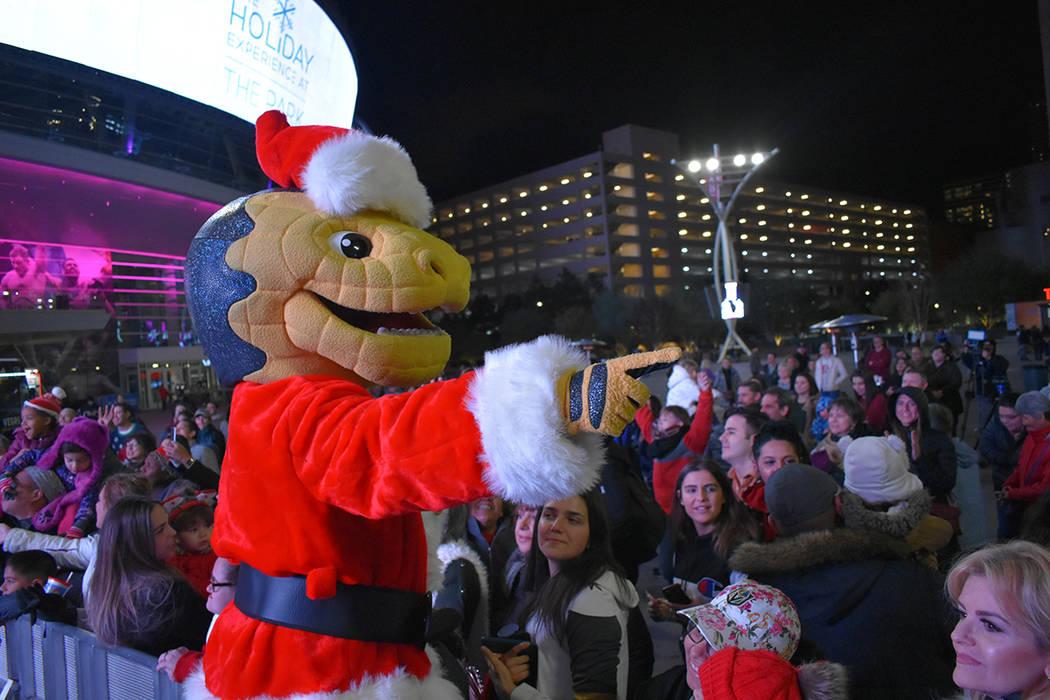 El evento fue familiar y sirvió también para apoyar al equipo local de la NHL, Vegas Golden Knights. Jueves 29 de noviembre de 2018 en Plaza Toshiba. Foto Anthony Avellaneda / El Tiempo.