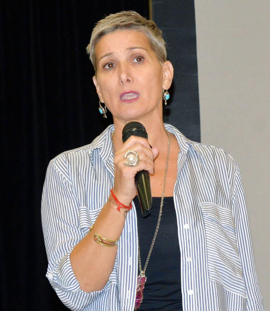 Esther Rodríguez Brown fue titular de un evento de recaudación para reunir fondos destinados a los damnificados del huracán María, que devastó Puerto Rico. Foto Frank Alejandre / El Tiempo.