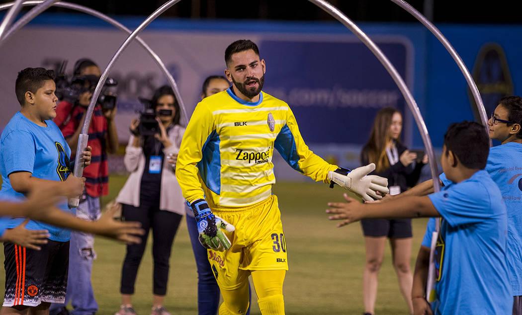 Thomas Olsen. Foto Cortesía Las Vegas Lights F.C.