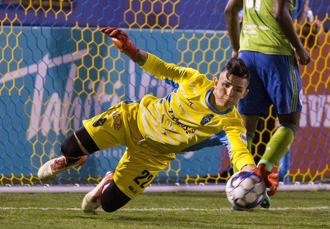 Ángel Álvarez. Foto Cortesía Las Vegas Lights F.C.