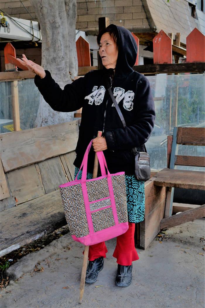 María de Jésus Gómez, de 75 años. (Doug Kari/Especial para el Las Vegas Review-Journal)