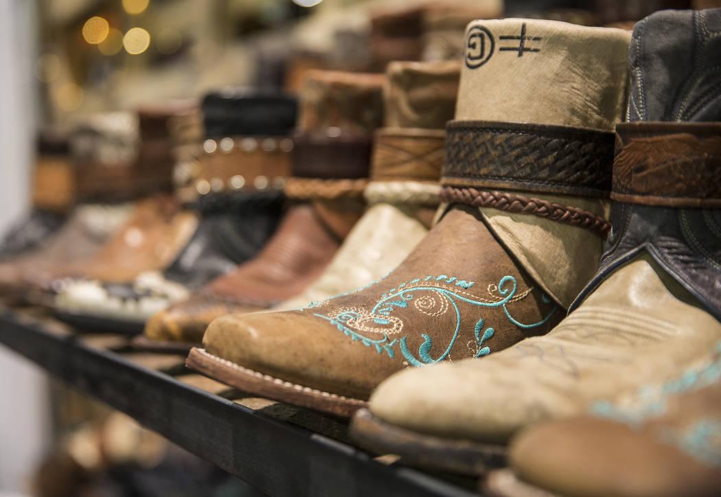 Canty Boots, con sede en Montana, en Cowboy Christmas en el Centro de Convenciones de Las Vegas, el jueves 6 de diciembre de 2018, en Las Vegas. Benjamin Hager Las Vegas Review-Journal