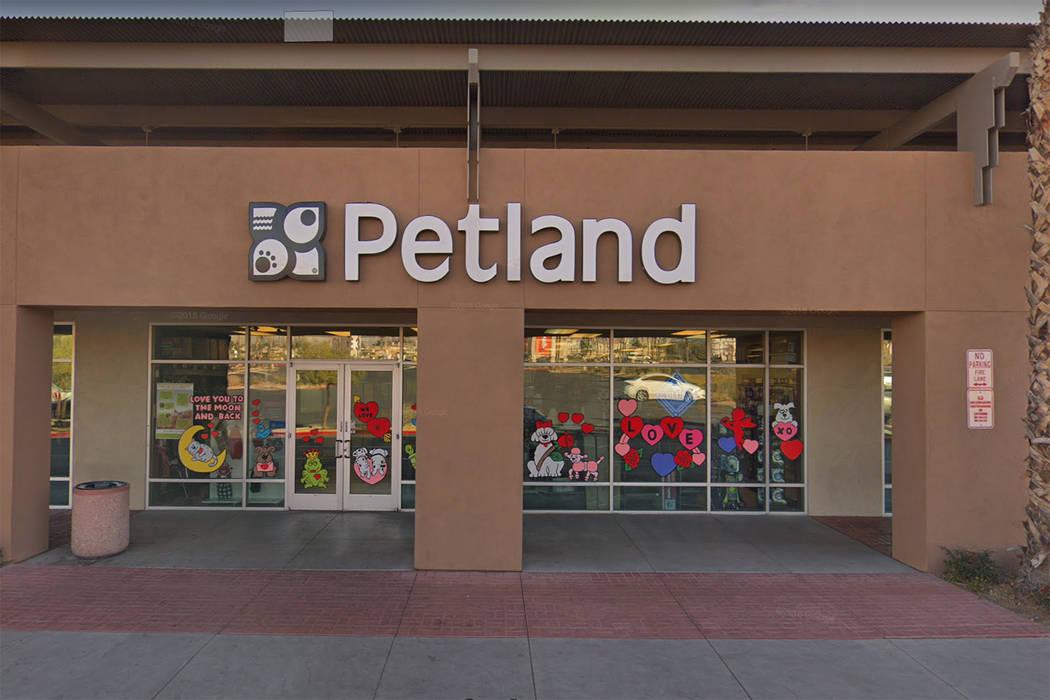 Una tienda Petland en 8800 W. Charleston Blvd. Las Vegas. (Google)