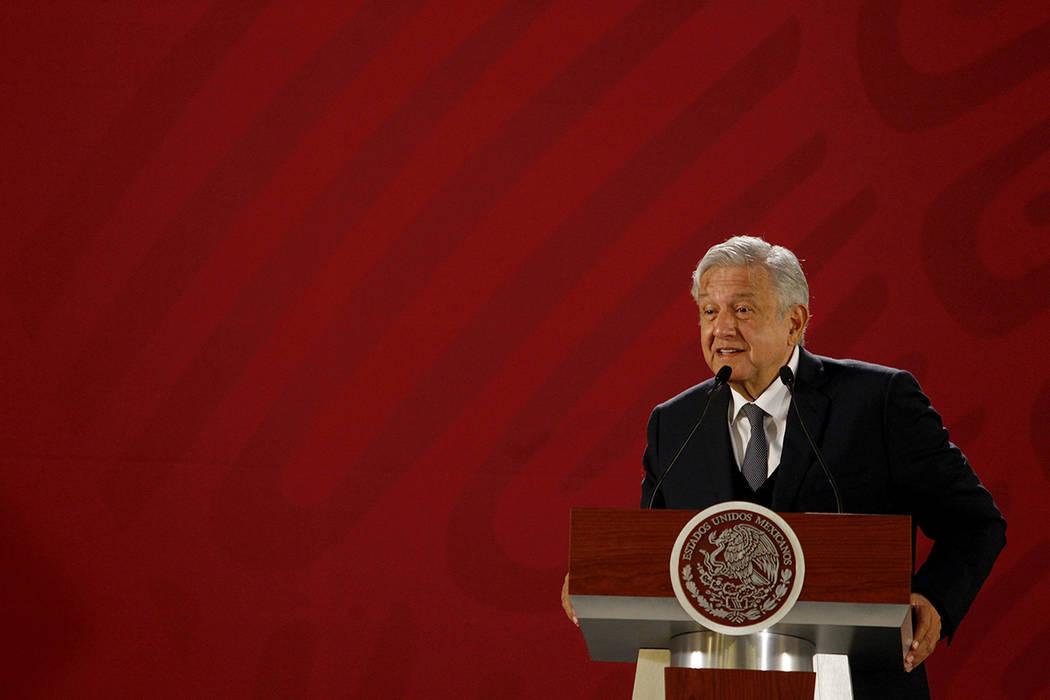ARCHIVO. México, 19 Dic 2018 (Notimex- Oscar Ramírez).- El presidente Andrés Manuel López Obrador ofreció su conferencia matutina, en el Palacio Nacional.