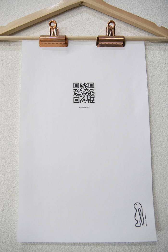 """El """"Portal"""" de Chi Ho Chan está en exhibición en Core Contemporary Gallery en Las Vegas, el miércoles 12 de diciembre de 2018. Caroline Brehman / Las Vegas Review-Journal"""