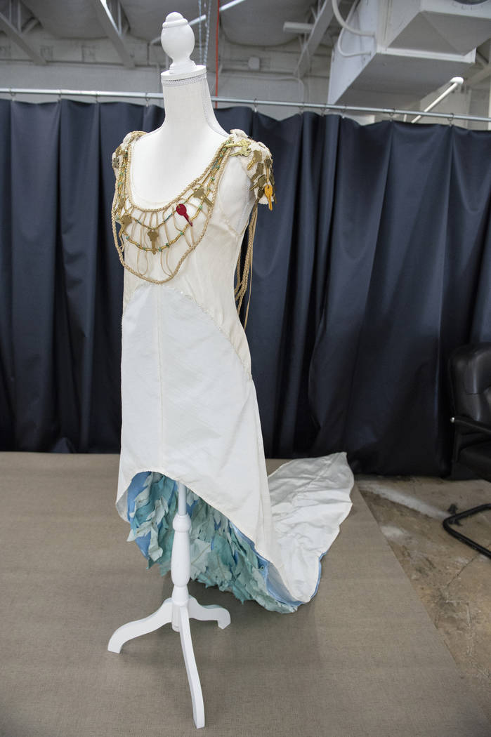"""""""Lost & Found"""" de Marisa Townsend está en exhibición en Core Contemporary Gallery en Las Vegas, el miércoles 12 de diciembre de 2018. Caroline Brehman / Las Vegas Review-Journal"""