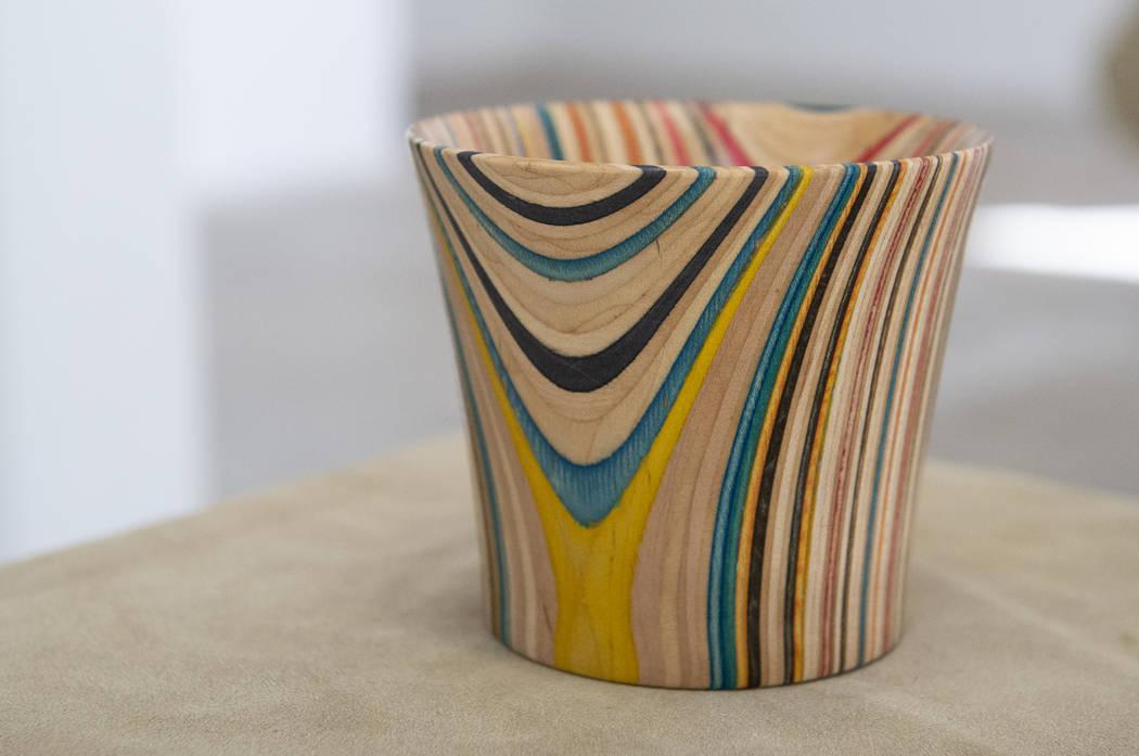 """""""Untitled"""" de Ashley McCoy está en exhibición en Core Contemporary Gallery en Las Vegas, el miércoles 12 de diciembre de 2018. Caroline Brehman / Las Vegas Review-Journal"""