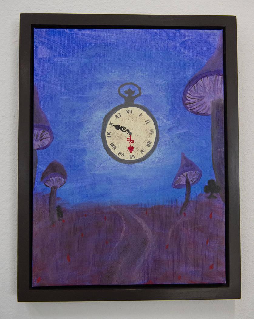 """""""10/6"""" de Davin Gaddy está en exhibición en Core Contemporary Gallery en Las Vegas, el miércoles 12 de diciembre de 2018. Caroline Brehman / Las Vegas Review-Journal"""