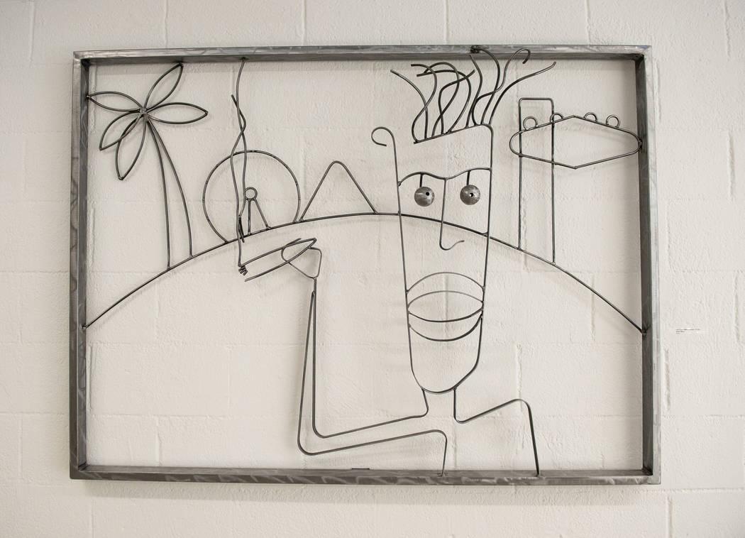 """""""Untitled"""" de Jayson Morgan está en exhibición en Core Contemporary Gallery en Las Vegas, el miércoles 12 de diciembre de 2018. Caroline Brehman / Las Vegas Review-Journal"""