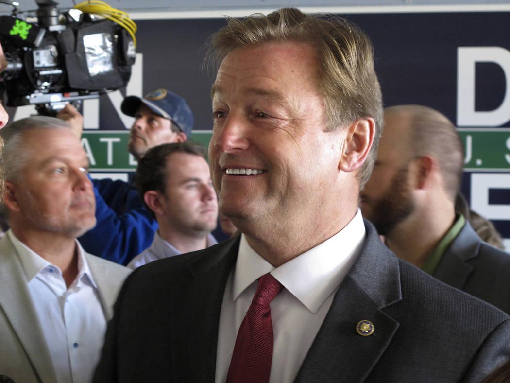 El senador republicano de Nevada Dean Heller. (Foto AP / Scott Sonner)