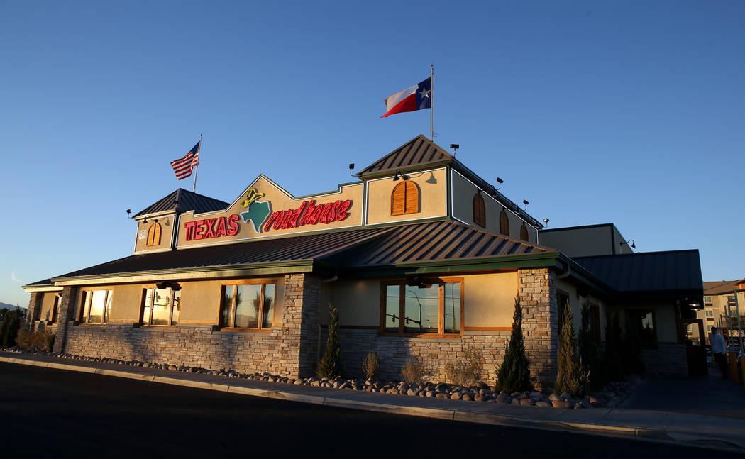 Texas Roadhouse en 1380 E. Craig Road en North Las Vegas Miércoles, 12 de diciembre de 2018. K.M. Cannon Las Vegas Review-Journal @KMCannonPhoto