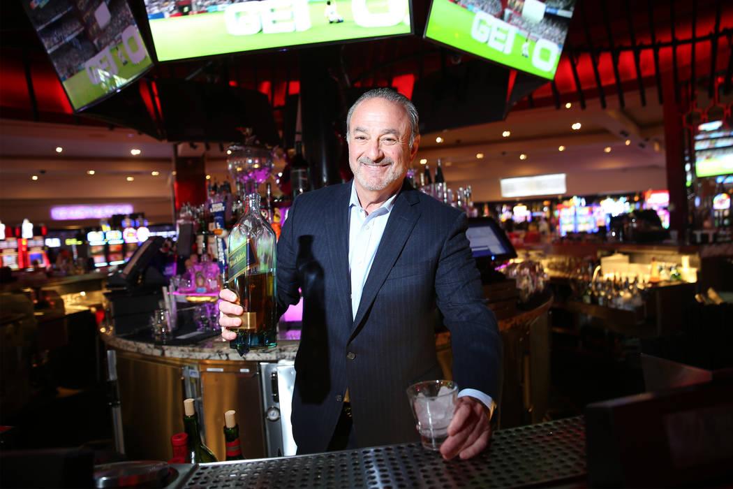 """El CEO de Hard Rock, Richard """"Boz"""" Bosworth, en el hotel de Las Vegas, el jueves 14 de junio de 2018. (Erik Verduzco / Las Vegas Review-Journal) @Erik_Verduzco"""