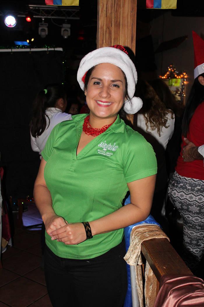 Originaria de Barranquilla, Laura Cabas, recordó su infancia con las Novenas. Martes 18 de diciembre del 2018 en restaurante Oiga Mire Vea. Foto Cristian De la Rosa / El Tiempo - Contribuidor.
