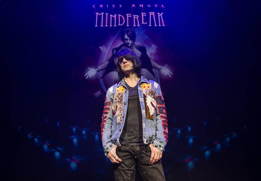 El ilusionista Criss Angel en el sitio de su nuevo teatro en Planet Hollywood Resort el jueves 6 de diciembre de 2018, en Las Vegas. Benjamin Hager Las Vegas Review-Journal