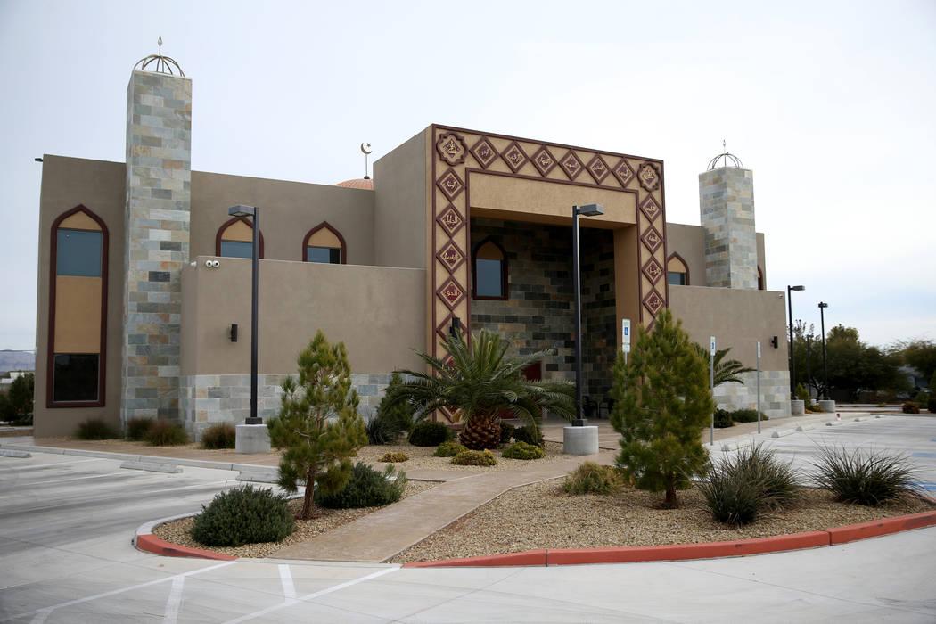 Centro Islámico Masjid Ibrahim en Las Vegas, viernes 14 de diciembre de 2018. K.M. Cannon Las Vegas Review-Journal @KMCannonPhoto