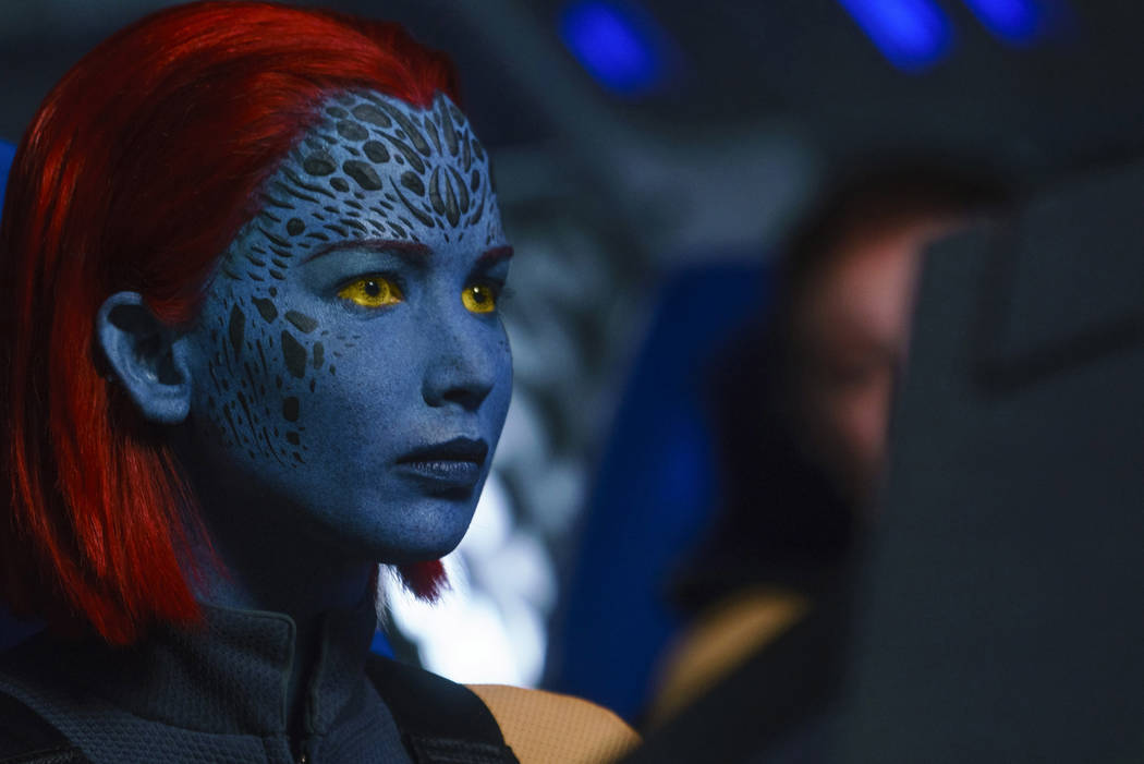 Jennifer Lawrence interpreta a Raven / Mystique en DARK PHOENIX de Twentieth Century Fox. (Doane Gregory)