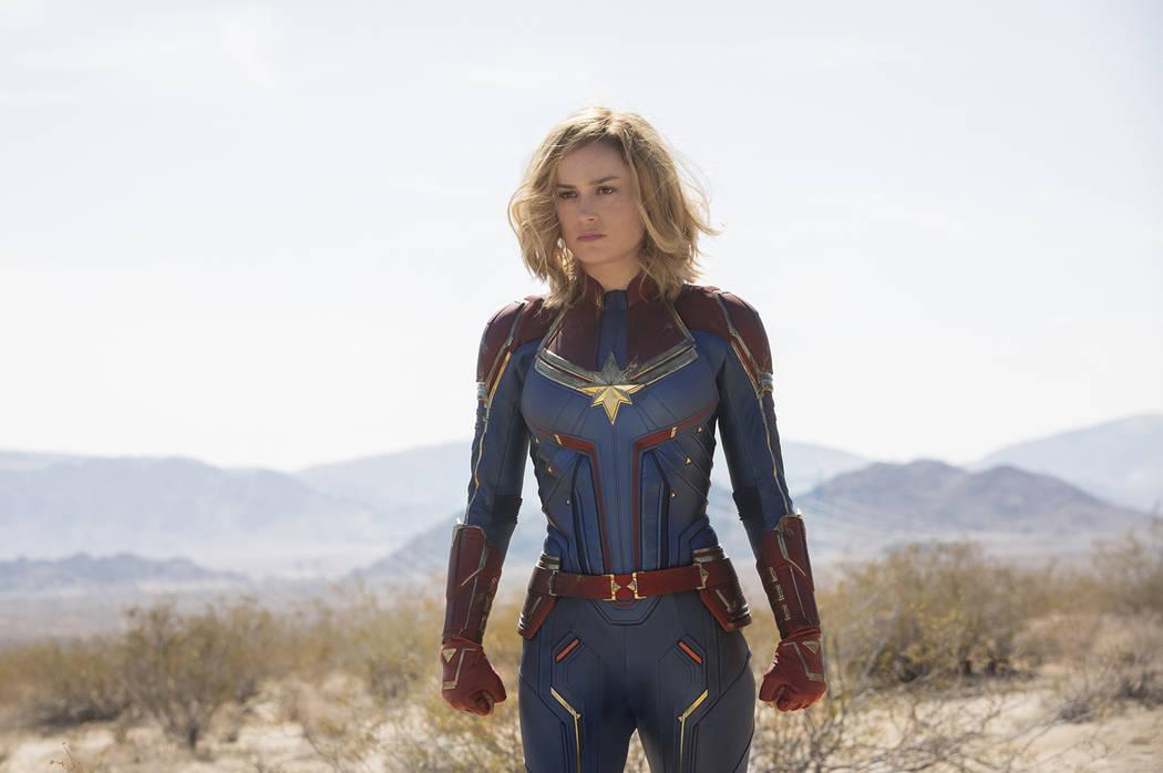 'CAPTAIN MARVEL' de Marvel Studios. Carol Danvers / Captain Marvel (Brie Larson) (Chuck Zlotnick / Marvel Studios 2019)