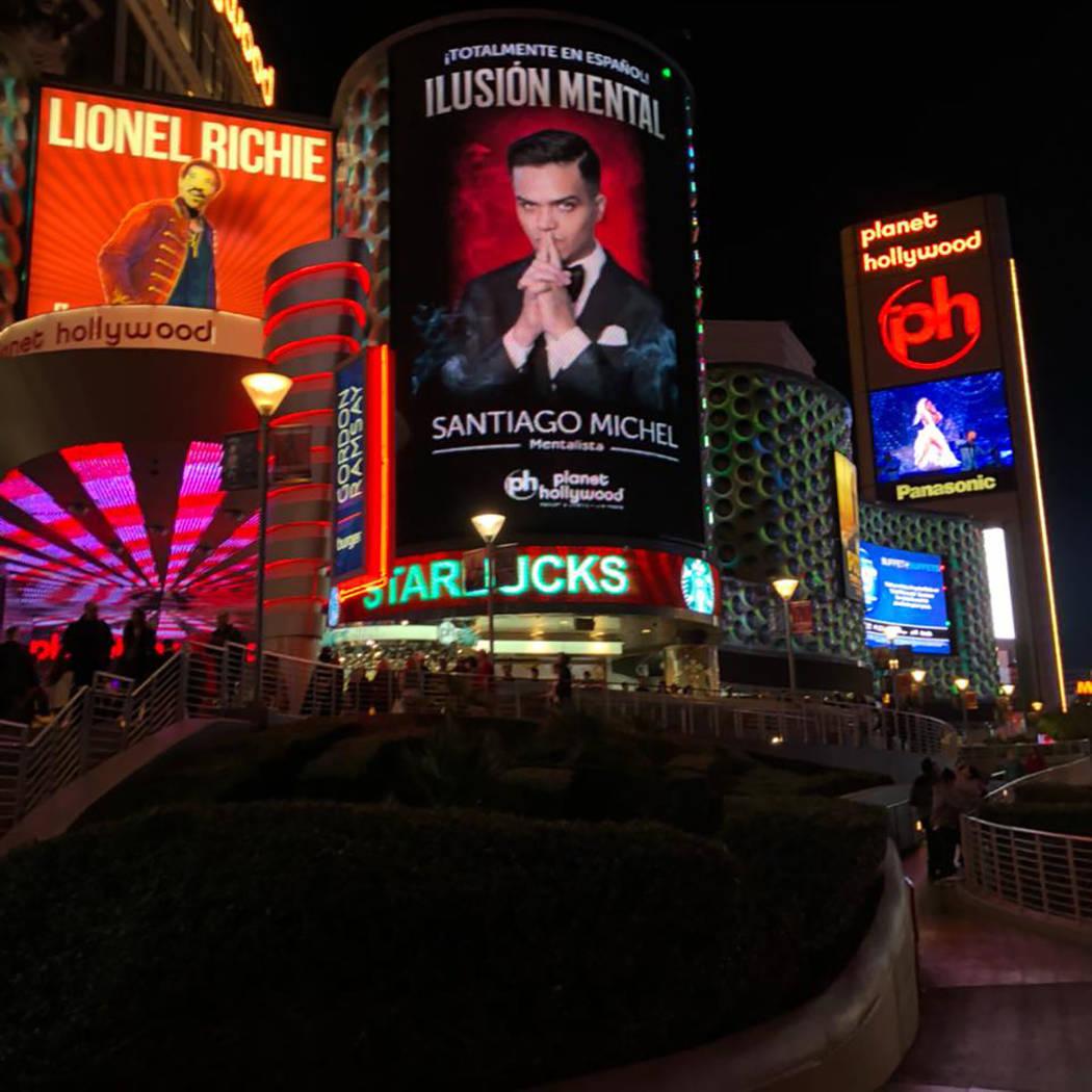 Ilusión Mental, el primer espectáculo en español en el Strip de Las Vegas, celebró su primer aniversario. [ Foto Cortesía ]