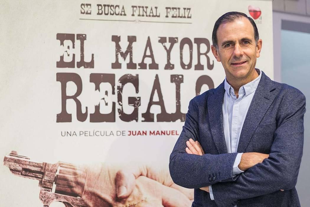 """Madrid, 27 Dic 2018 (Notimex-Especial).- Tras su éxito en España y con distribución en 14 países entre ellos México y España, la película """"El mayor regalo"""", el cineasta español Juan Ma ..."""