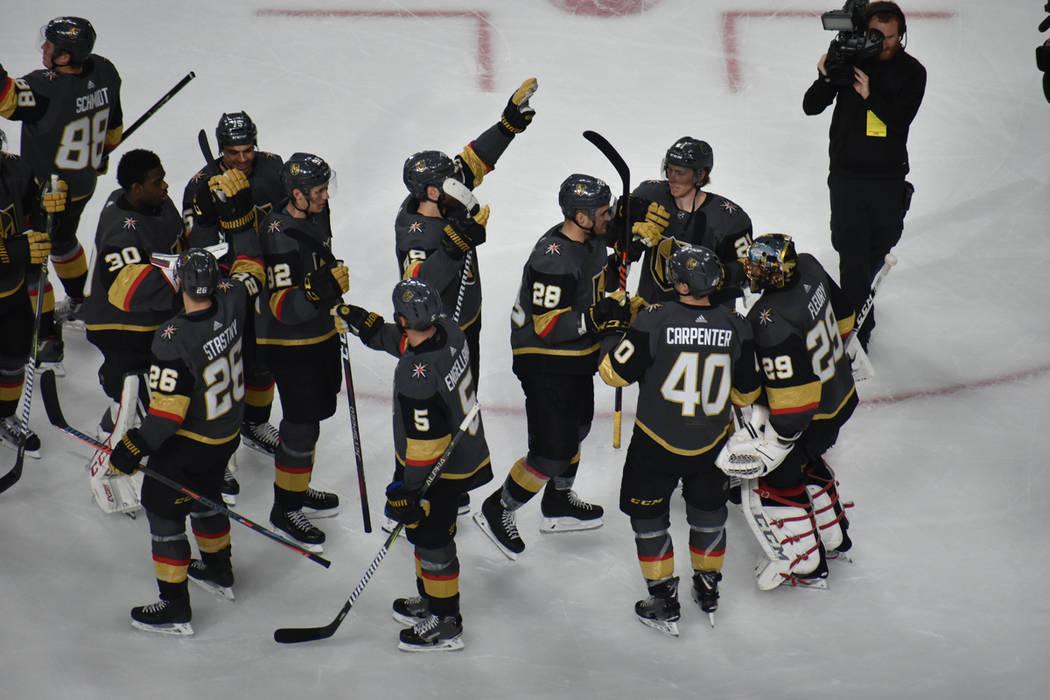 Vegas Golden Knights enfrentó a Los Ángeles Kings en un juego de la NHL disputado el 1 de enero de 2019 en el T-Mobile Arena de Las Vegas. Foto Anthony Avellaneda / El Tiempo.