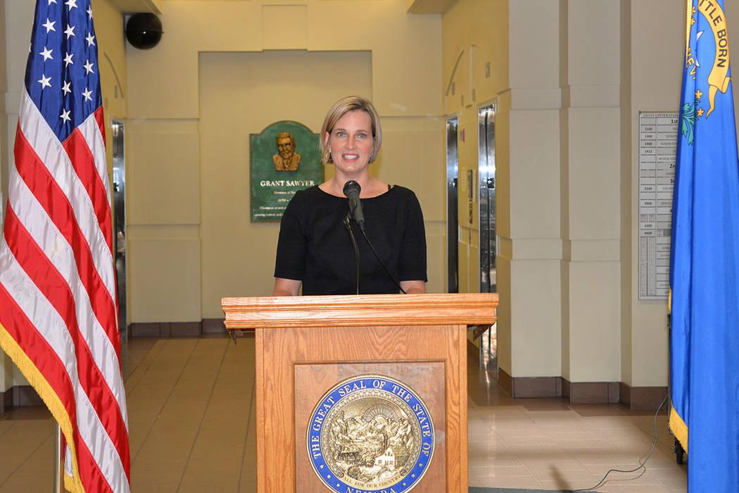 Archivo.- Heather Korbulic es directora ejecutiva de la Silver State Health Insurance Exchange. Foto Frank Alejandre / El Tiempo.