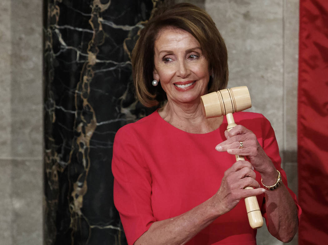 Congresista Nancy Pelosi. [ Foto Carolyn Kaster / AP ]