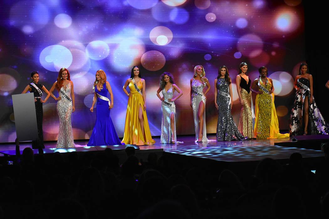 Con éxito se llevó a cabo la edición 2019 del certamen Miss Nevada USA. Domingo 6 de enero de 2019 en el casino South Point. Foto Anthony Avellaneda / El Tiempo.