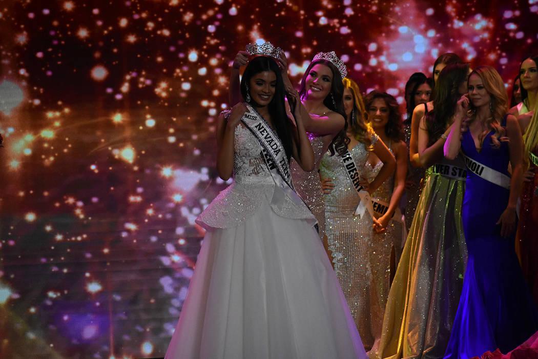 Erica Bonilla fue coronada como Miss Nevada Teen USA 2019. Domingo 6 de enero de 2019 en el casino South Point. Foto Anthony Avellaneda / El Tiempo.