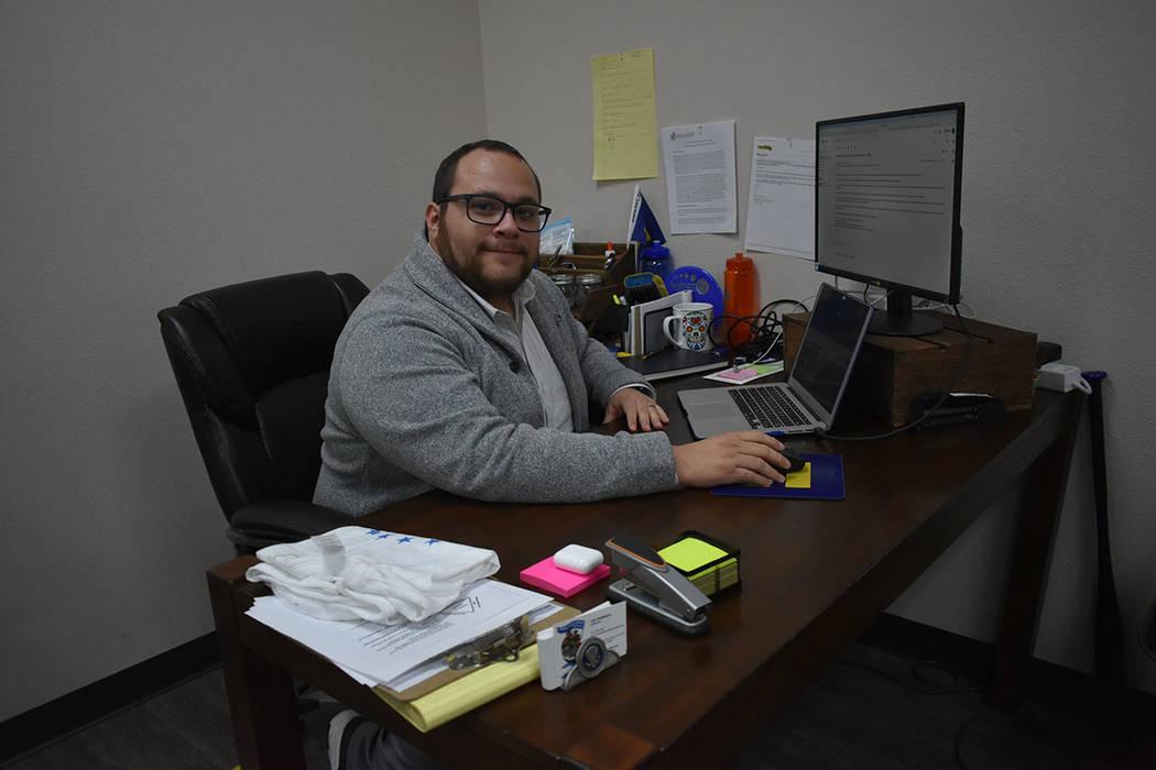 """""""Nos estamos uniendo para esta Legislatura, vamos a ir por lo menos una vez al mes a Carson City para hablar con legisladores republicanos y demócratas"""", Leo Murrieta, director de Make the Ro ..."""