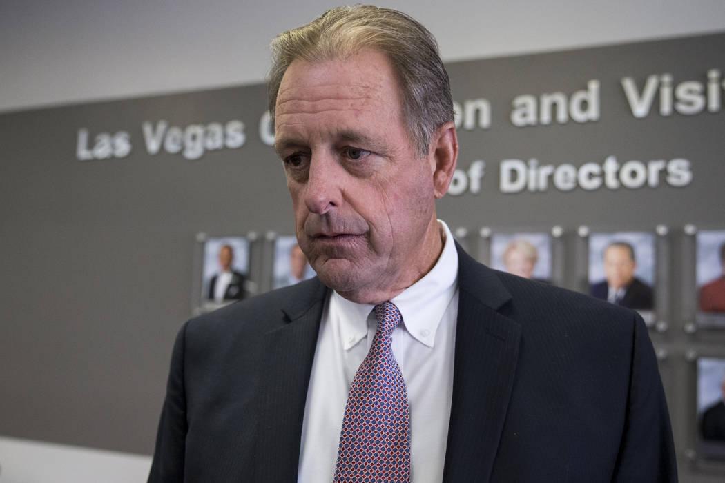 John Lee, alcalde de North Las Vegas. (Erik Verduzco / Las Vegas Review-Journal) @Erik_Verduzco