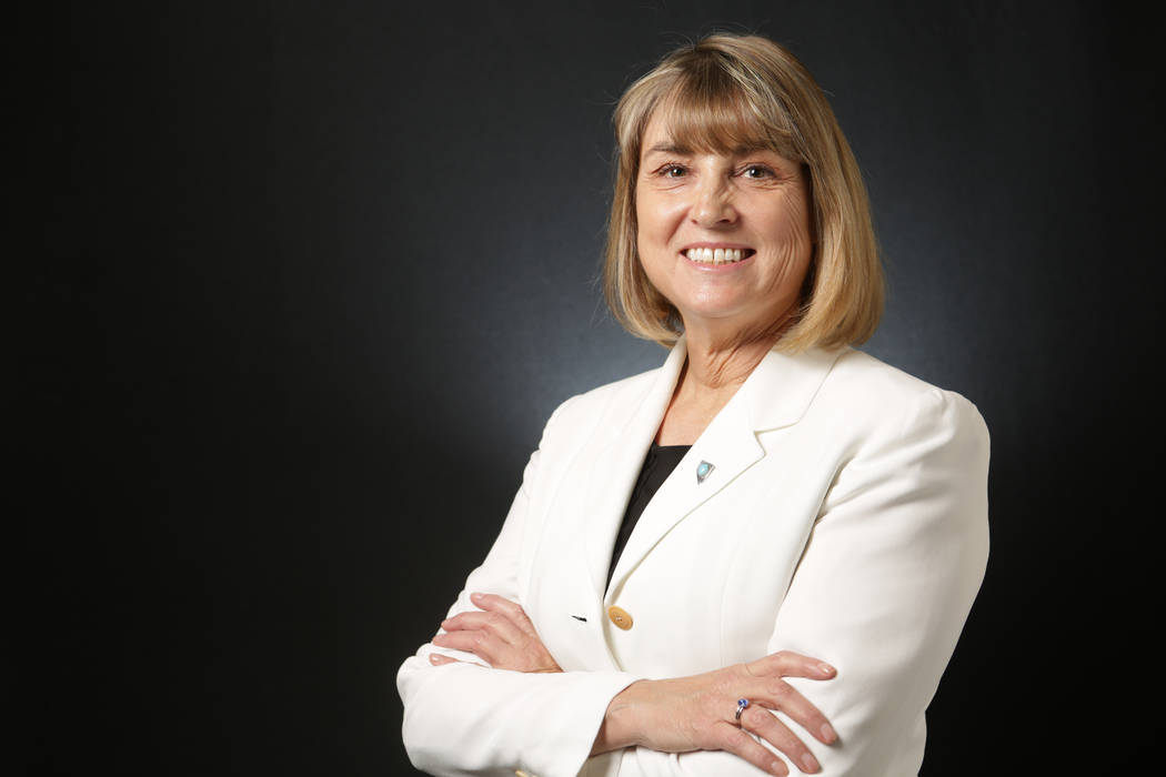 La vicegobernadora Kate Marshall de Nevada. (Michael Quine / Las Vegas Review-Journal) @ Vegas88s