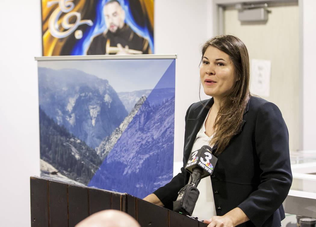 Riana Durrett, directora ejecutiva de la Asociación de Dispensarios de Nevada. Patrick Connolly Las Vegas Review-Journal