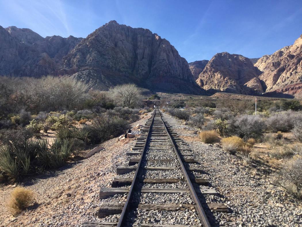 El desarrollador Joel Laub y su abogado y socio del proyecto, J. Randall Jones, planean comprar Bonnie Springs Ranch, visto anteriormente el miércoles 9 de enero de 2019, al oeste de Las Vegas, y ...