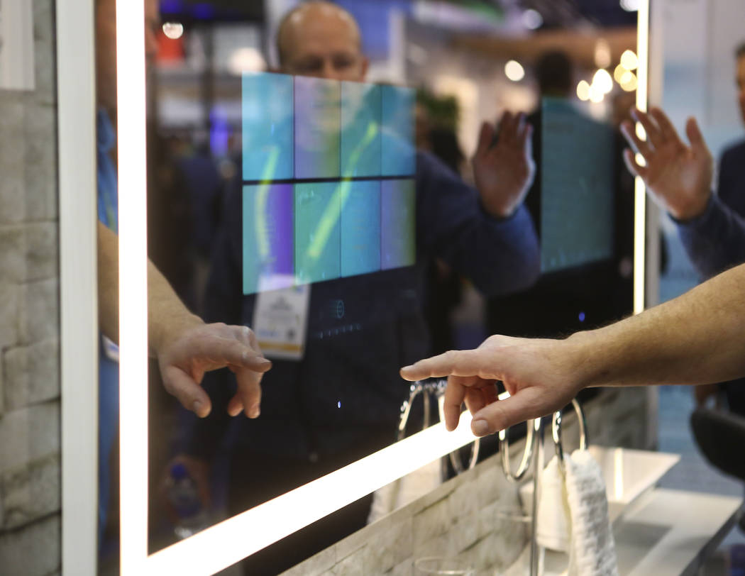 En el Sands Expo and Convention Center durante el CES en Las Vegas el miércoles 9 de enero de 2019. Chase Stevens Las Vegas Review-Journal @csstevensphoto