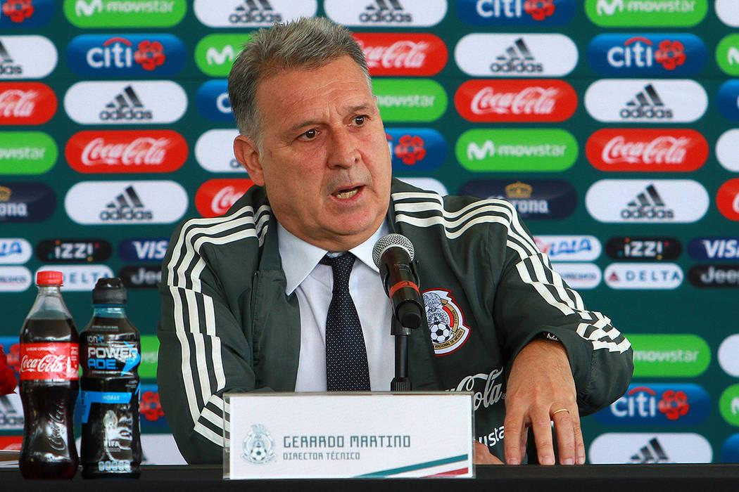 México, 7 Ene 2018 (Notimex- Francisco Estrada).- El argentino Gerardo Martino fue presentado de manera oficial como nuevo técnico de la selección mexicana de futbol con miras a la Copa del Mun ...