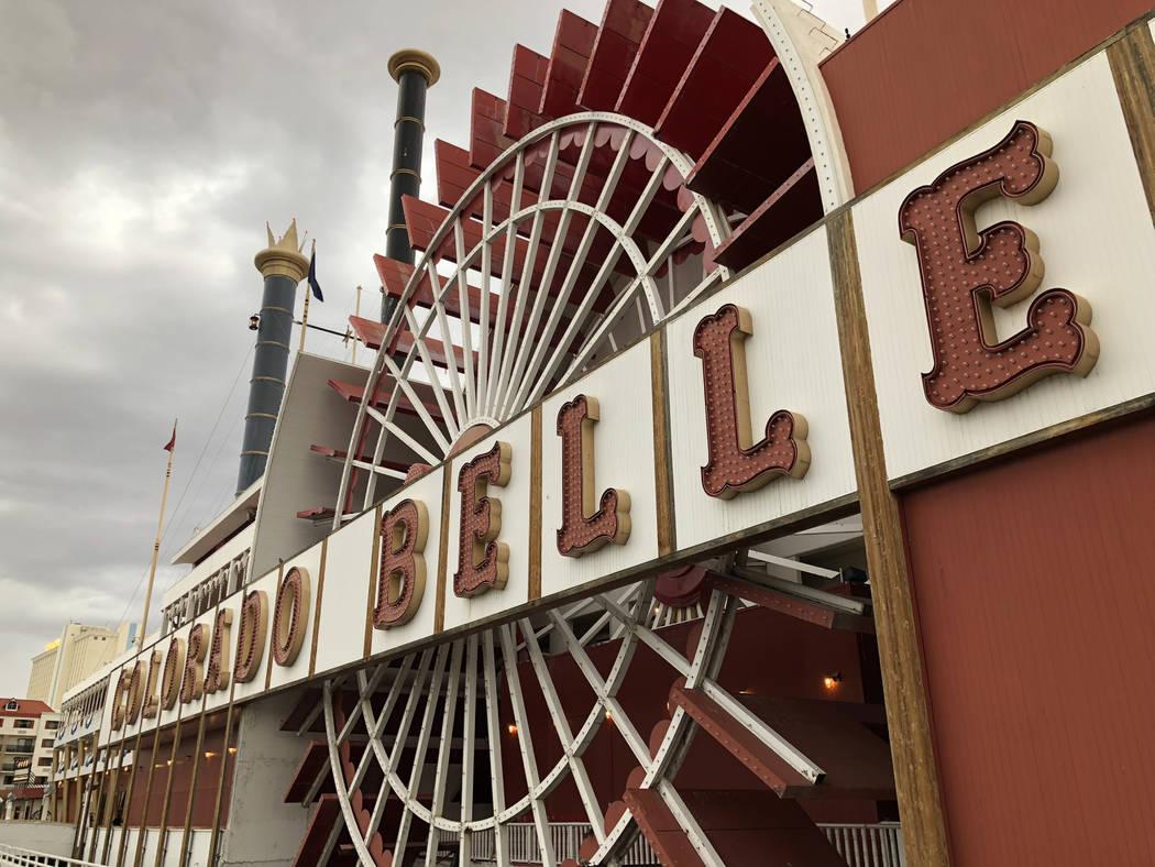 The Colorado Belle en Laughlin el 17 de marzo de 2018. (Todd Prince / Las Vegas Review-Journal)